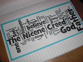 Look to Him and be Radiant: lots of ideas for teaching about the Nicene Creed.