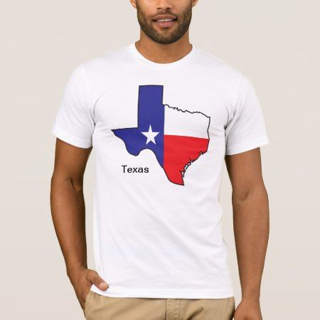Texas Flag Map T-Shirt - tap to personalize and get yours