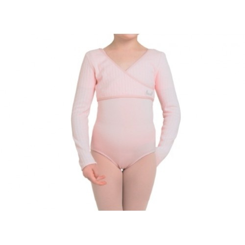 Bloch Bonnie, Girl's cross over  Girl's cropped mock cross over  Fabric: 60% Cotton, 40% Polyester  Colors: Ballet pink , Black  Price: 20.60€