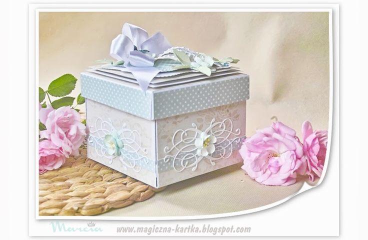 ~~Marcia - Magiczna Kartka~~: Ślubny Exploding Box