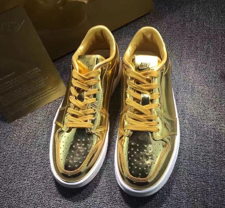 An Air Jordan 1 Low Pinnacle Metallic Gold Is Also Releasing