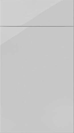 Plain slab high gloss lacquered kitchen doors in ANY colour. www.kbstoretrade.co.uk