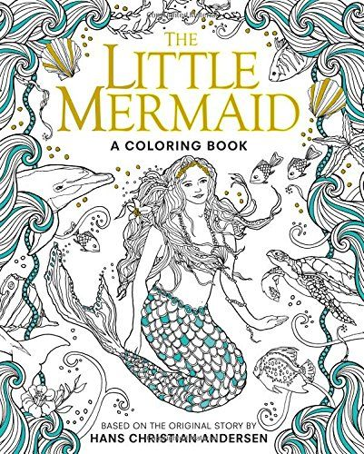 The Little Mermaid A Coloring Book Classic Boo