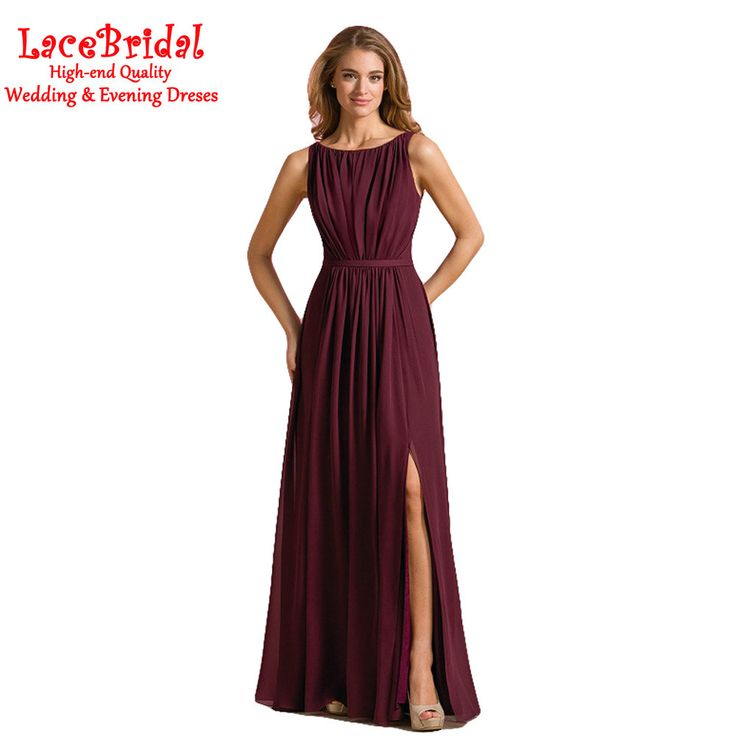 Like and Share if you want this  Real Elegant Splt A Line Pleated Chiffon Bridesmaid Dresses 2016 V Back Long Maid of Honor Gowns Party Prom Gown Custom Made JB1     Tag a friend who would love this!     FREE Shipping Worldwide     Get it here ---> http://onlineshopping.fashiongarments.biz/products/real-elegant-splt-a-line-pleated-chiffon-bridesmaid-dresses-2016-v-back-long-maid-of-honor-gowns-party-prom-gown-custom-made-jb1/