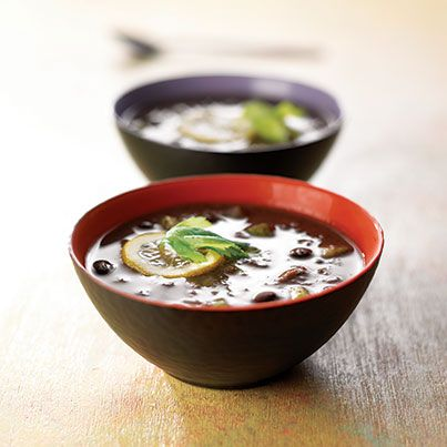 ... south beach black bean soup recipe for spicy ground beef and bean soup