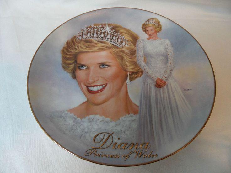 Prinzessin Diana u. Prinz Charles Bradford Exchange Teller Ever Elegant