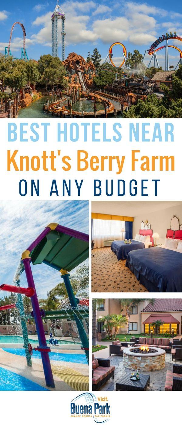 7 best hotels near knott | knott's berry farm | pinterest