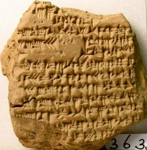 This tablet describes the defeat of Darius III by Alexander the Great at the Battle of  Gaugamela in 331 BC, and Alexander's triumphant entry into Babylon.
