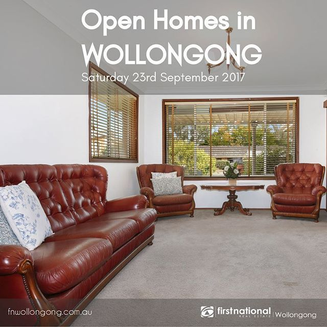 Open Homes in Wollongong  Saturday 23rd September 2017    These ready to move into cosy homes are open for viewing tomorrow - Everyone is welcome! 🏚️🏚️ For more info visit: http://ow.ly/3BCV30flx5v   #IllawarraProperties #WeLoveTheGong #househunting #newhome #firstnationalwollongong