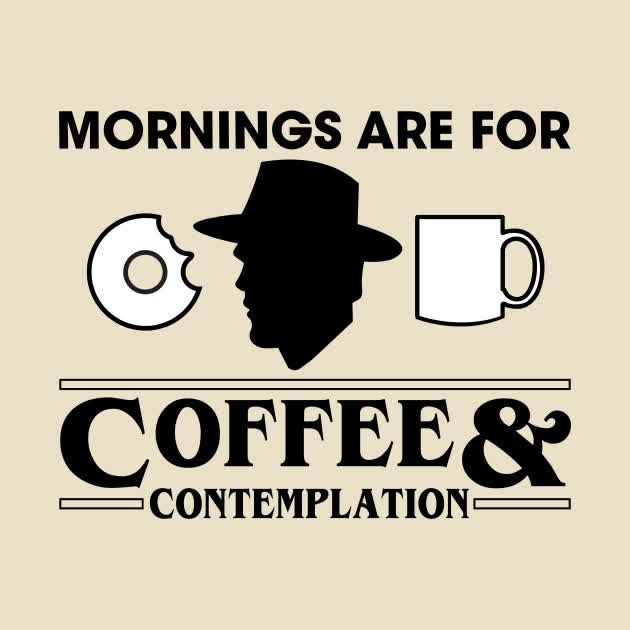 Especially Monday mornings... We're contemplating our big tasks for the week and have LOTS going on. It's a good problem to have    ☕