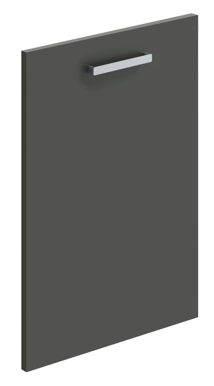 Anthracite matt replacement kitchen door