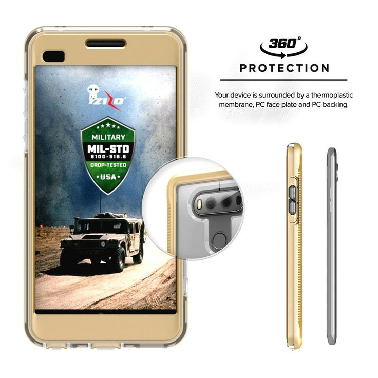 Zizo Ion Case for LG V20 Military Grade Drop Tested + 0.33 9H Tempered Glass Screen Protector - Zizo® - 18