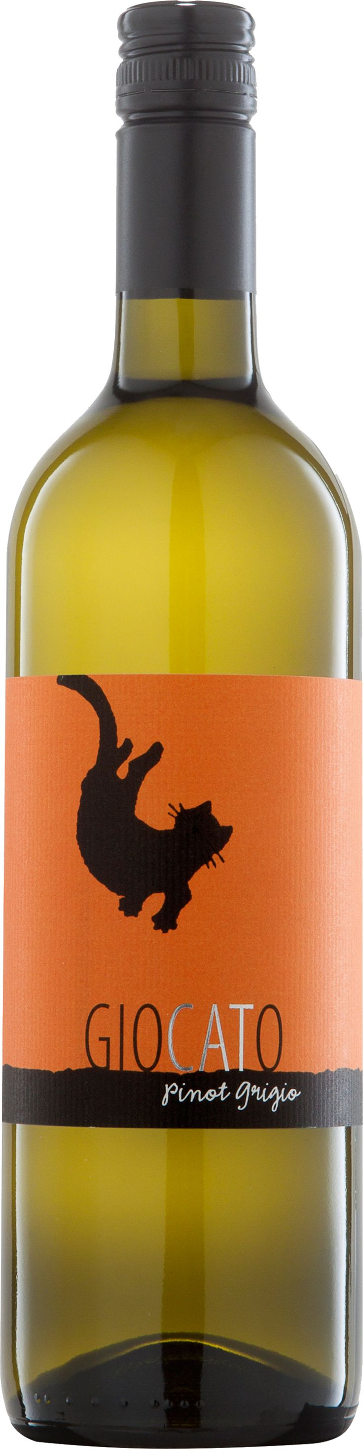 The perfect wine for Halloween:  Giocato Pinot Grigio