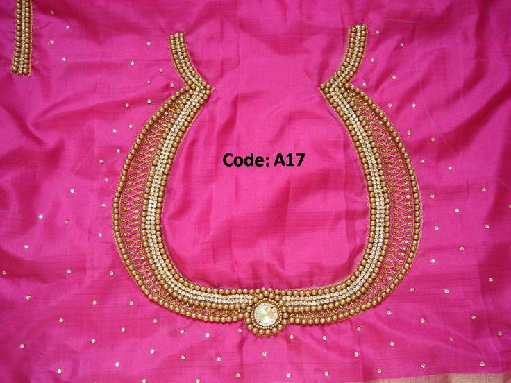antique pearl work