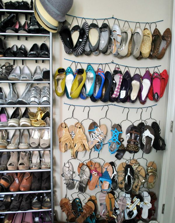 Organize Your Clothes 10 Creative And Effective Ways To Store And Hang Your Clothes: 1000+ Ideas About Shoe Hanger On Pinterest