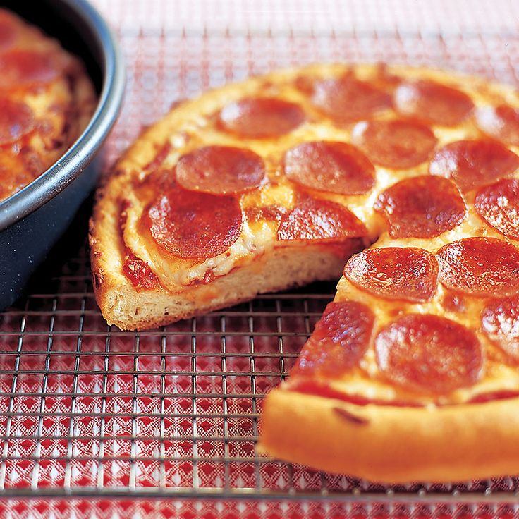 Pepperoni Pan Pizza Recipe Cook S Country From