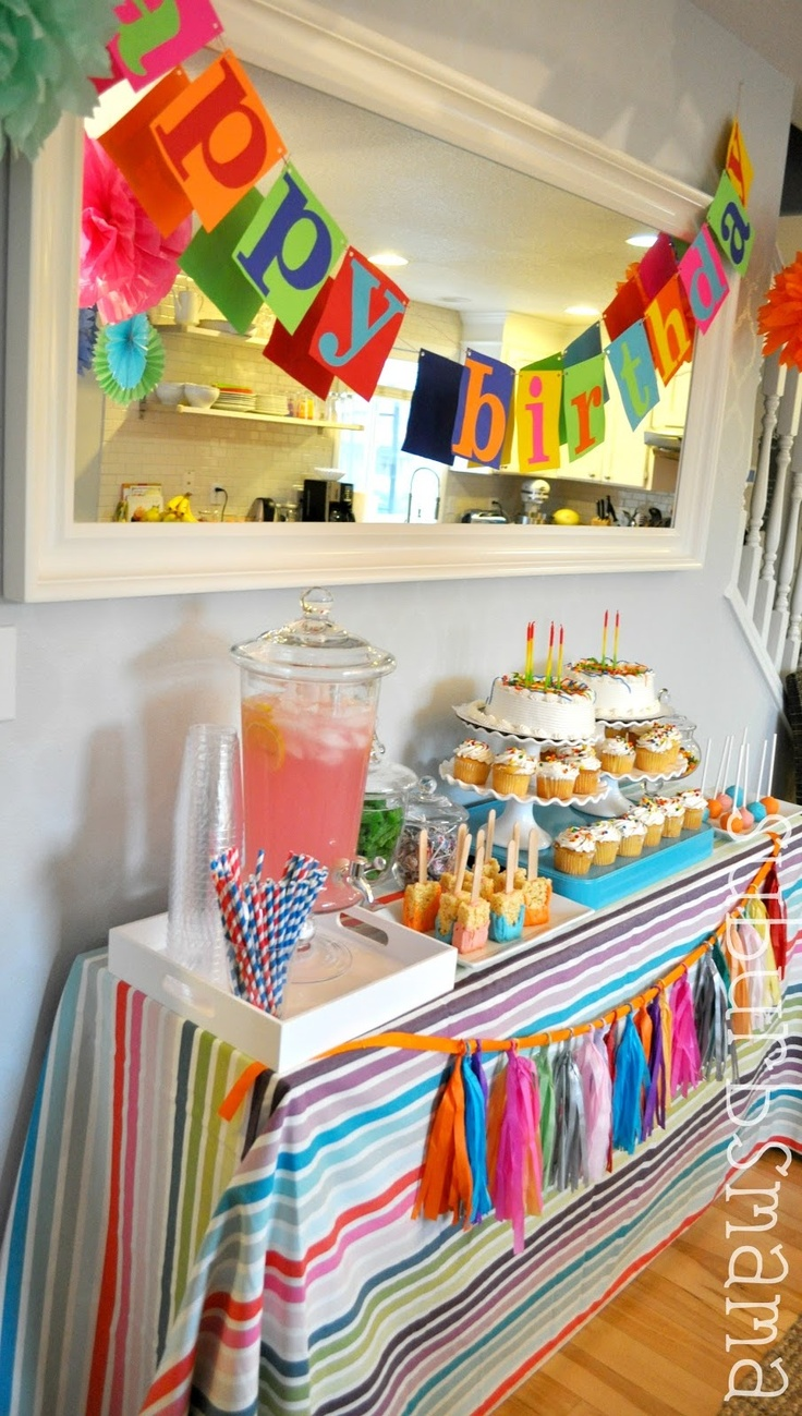 Suburbs Mama-darling kids birthday party ideas