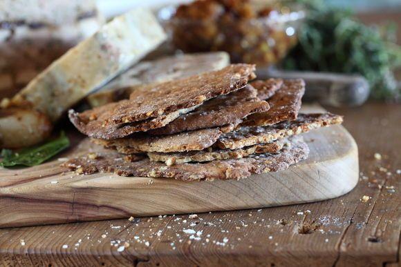 Buckwheat walnut flatbread Maggie Beer