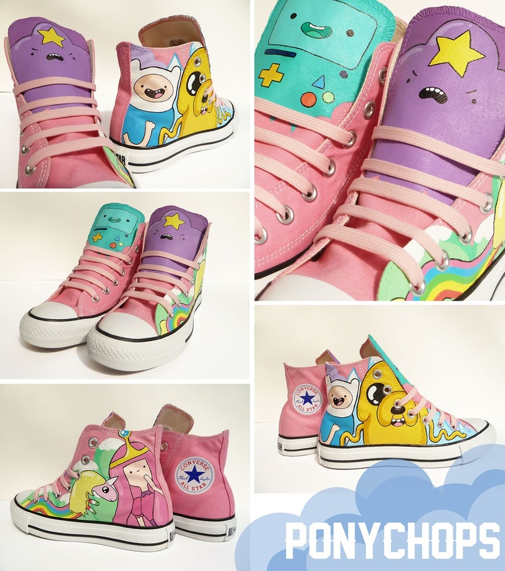 Adventure Time Converse All of the characters here are copyright of ©