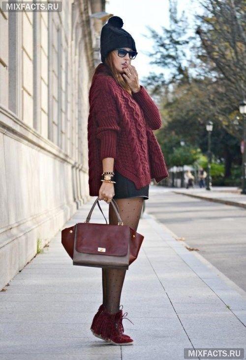 осенние женские свитера