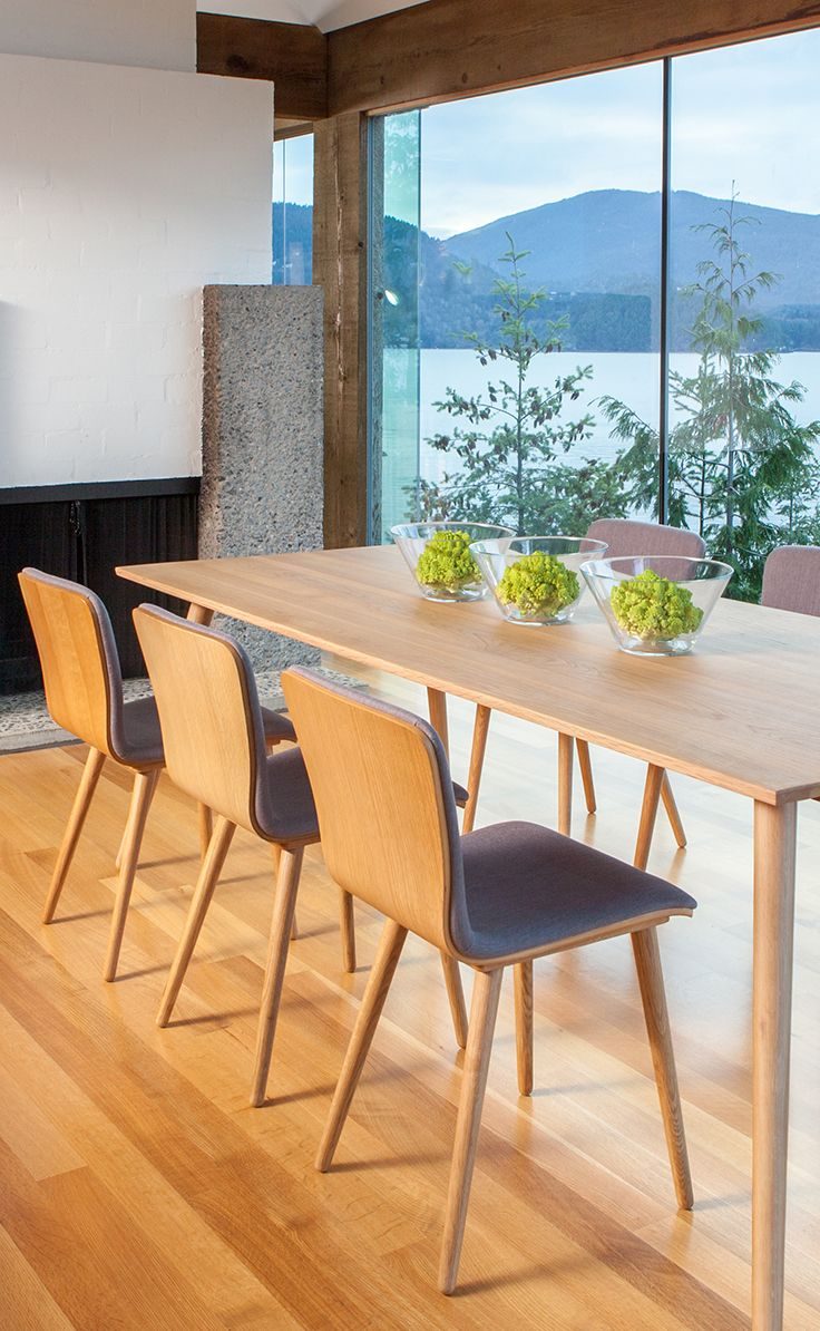 Rectangular 8 Person Dining Table In Oak Wood | Article Seno Modern  Furniture