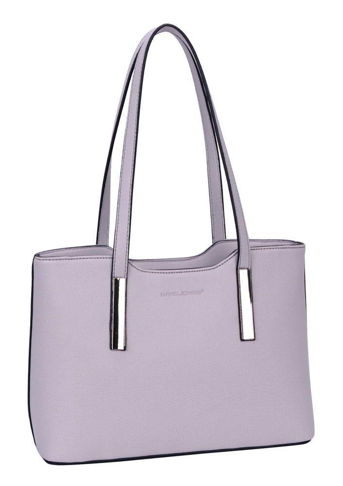 David Jones Grey Bag