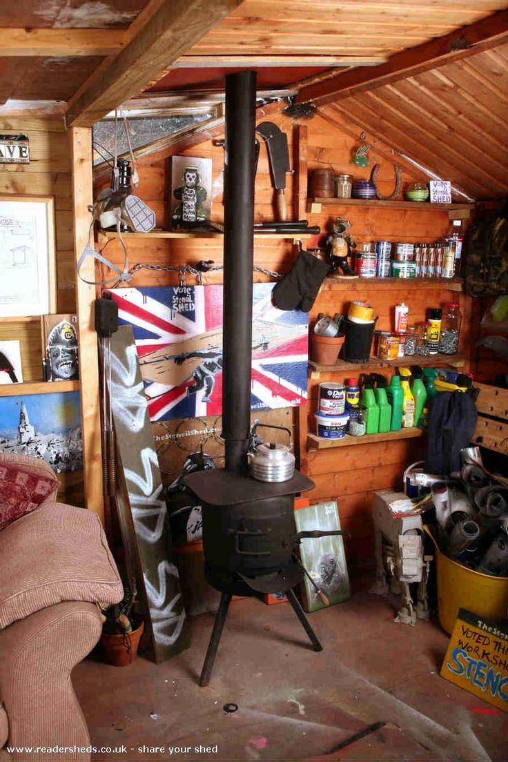 The Stencil Shed, Workshop/Studio shed from Malmesbury, Wiltshire | Readersheds.co.uk