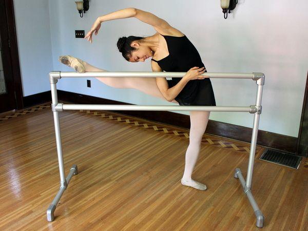 DIY Freestanding Ballet Barre #ballet