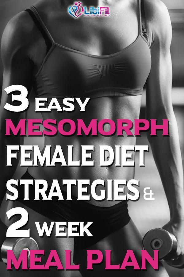 Hey mesomorph woman!  Are you looking for the diet strategies to help you lose w…