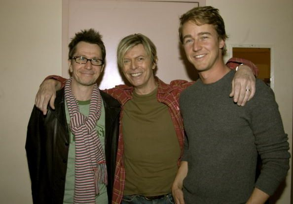 Gary Oldman, David Bowie, and Edward Norton. [Oh my lahhd, Edward Norton was EXTRA fine when he was younger.]