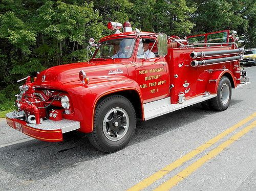 https://flic.kr/p/xzucS5 | 1955 Ford F-750 Big Job American Pumper | Howard County Fair, Howard County Fairgrounds, West Friendship, MD, August 9, 2015.