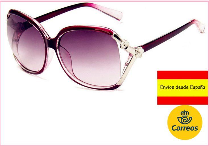 Gafas De Sol Mujeres Modernas Conducir Paseo Aire Libre viaje + Funda Regalo
