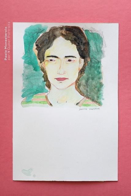 Queer Portraits, di Paola Monasterolo    2: Jeanette Winterson