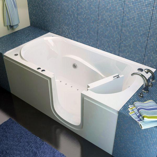 bathtub: bathtub you can walk into