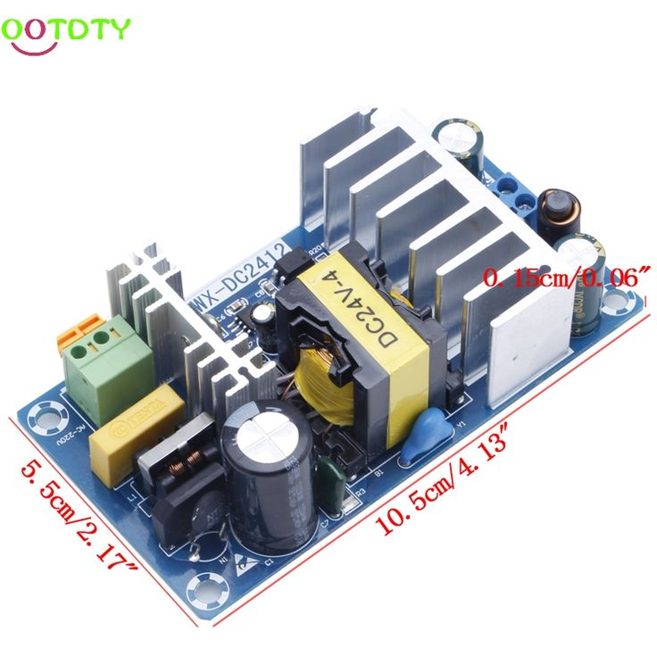 Power Supply Module AC 110v 220v to DC 24V 6A AC-DC Switching Power Supply Board  828 Promotion  Price: 8.17 USD