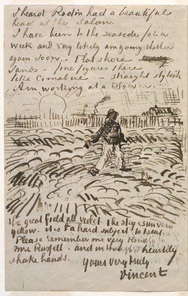 ALONGTIMEALONE: nobrashfestivity: Vincent Van Gogh, Letters to...