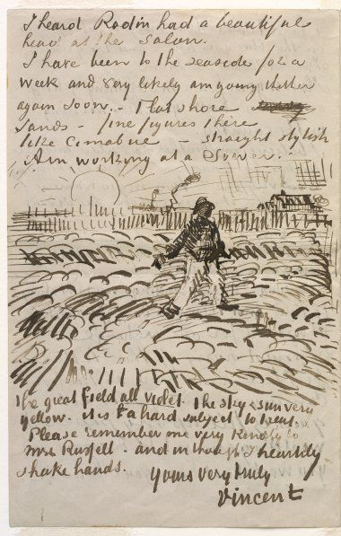 alongtimealone nobrashfestivity vincent van gogh letters to - Van Gogh Lebenslauf