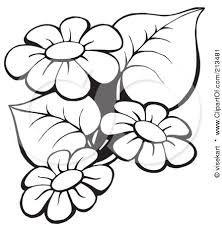 Image result for stencils plastic of flowers to print for free