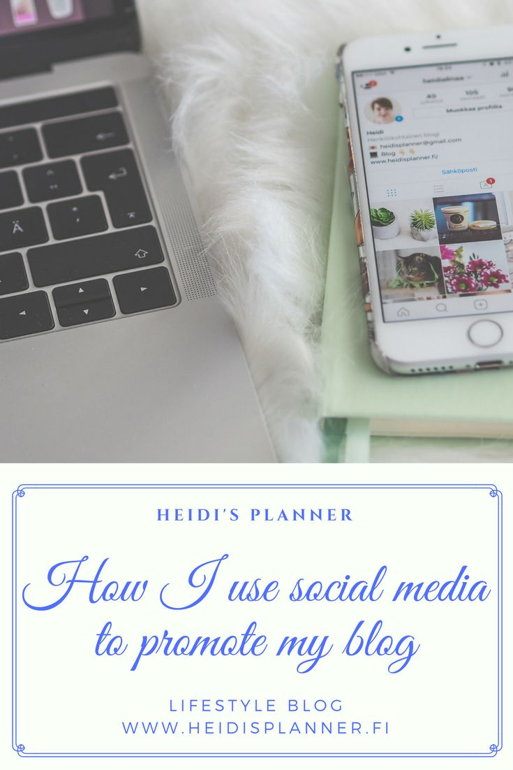 How to promote blog on social media