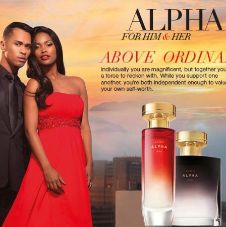 Stand a chance to win1 x AVON Alpha for Him and 1 x AVON Alpha for Her.      INTRODUCING THE NEW AVON ALPHA FOR HER You are Powerful...You are the epitome of a modern woman: strong, independent and in charge of your own destiny. Furthermore, you know your worth...
