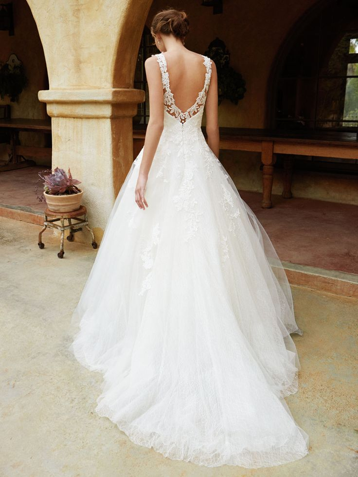 New at Uptown Bridal! Uptown Bridal & Boutique  www.uptownbrides.com Beautiful 2016, BT16-13 back view