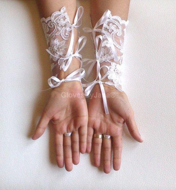 Guanti di pizzo lungo di guanti da sposa guanti da di GlovesByJana
