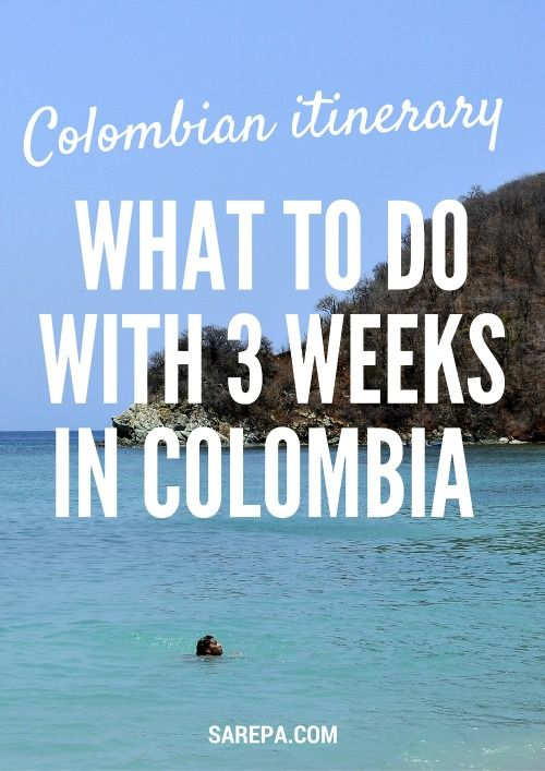 Travel Colombia Itinerary http://www.sarepa.com/2015/11/16/colombia-travel-itinerary-what-to-do-for-3-weeks-in-colombia/