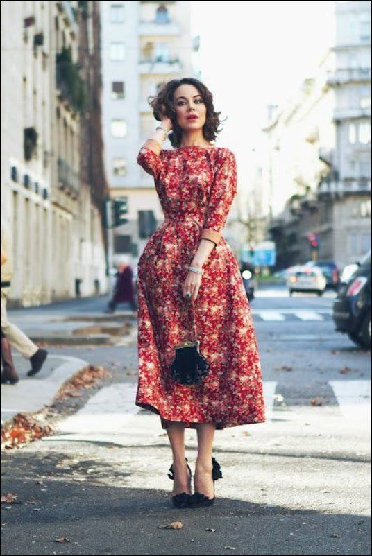Vintage Wedding Guest Dresses