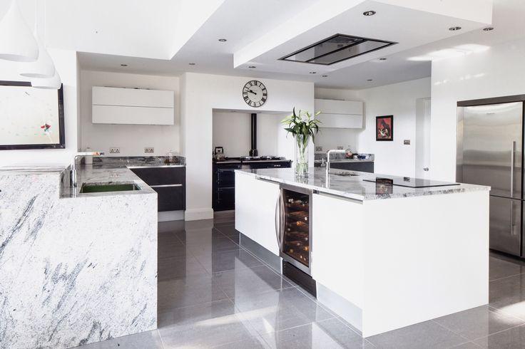 Best Viscount White Natural Granite Worktops Kitchen 400 x 300