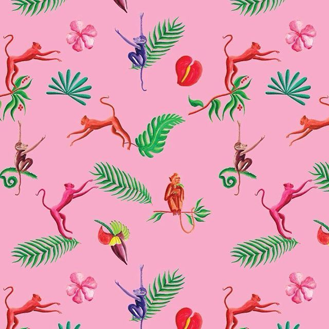 It's the year of the monkey and to celebrate this we've been decorating our store with get.give's very own monkey themed wrapping paper. The beautifully detailed print is designed by our friend @emiliesarnel - purchase online at www.get-give.co or in store #yearofthemonkey #thoughtful #gifting #getgive