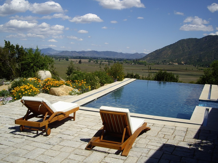 CHILE - Colchagua Wine Valley - The cool Pacific Ocean breezes transformed this formerly quiet valley into the most important new red wine regions with leading wineries such as Casa Lapostolle and Montes producing intense and aroma filled wines.#Colchagua