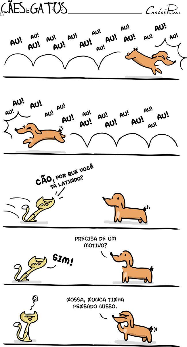 Meu cachorro definido em quadrinhos kkkk