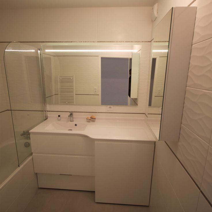 camille  meuble de salle de bains pour lavelinge intégré