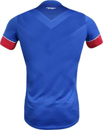 Haiti 2016 Copa America Home Kit Jersey /b